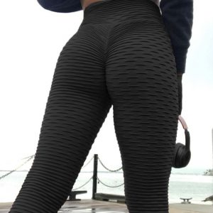 High Waist Anti-Cellulite Scrunch Leggings
