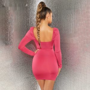 Cutout Bodycon Bandage Dress