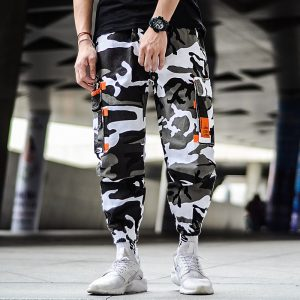 Camouflage Cargo Joggers