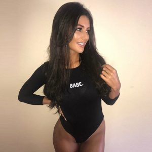 Long Sleeve Babe Bodysuit